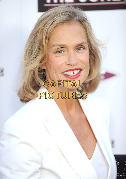 "LAUREN HUTTON.at the L.A. Premiere of ""The Joneses"" held at The Arclight Theatre in Hollywood, California, USA, .April 8th, 2010..arrivals portrait headshot white jacket red lipstick make-up mouth open smiling wrinkles teeth gap .CAP/RKE/DVS.©DVS/RockinExposures/Capital Pictures."