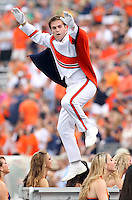 Sept. 3, 2011 - Charlottesville, Virginia - USA; Virginia Cavaliers band member directs the band during an NCAA football game against William & Mary at Scott Stadium. Virginia won 40-3. (Credit Image: © Andrew Shurtleff)