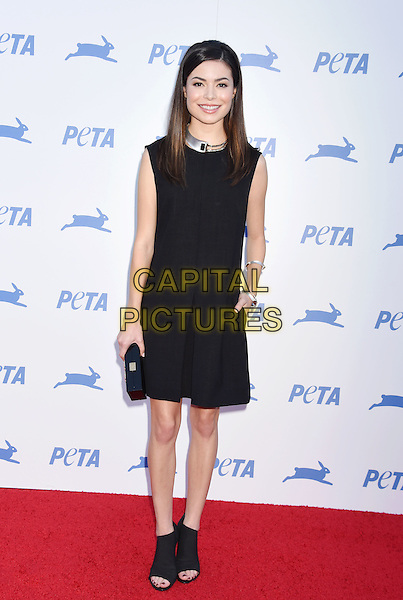 LOS ANGELES, CA - SEPTEMBER 30: Actress  Miranda Cosgrove arrives at PETA's 35th Anniversary Party at Hollywood Palladium on September 30, 2015 in Los Angeles, California.<br /> CAP/ROT/TM<br /> &copy;TM/Roth Stock/Capital Pictures