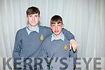 Brothers, Darragh and Rory Reen attending the CBS Sports Award evening in the Rose Hotel on Thursday.