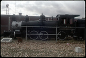 D&amp;RGW #169 T-12 on display in Alamosa.<br /> D&amp;RGW  Alamosa, CO