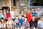 Timmy Cullotty, Alderwood Road Tralee, celebrates his 21st birthday with Family at Croi (The Square) on Sunday