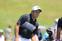 Francesco Molinari (ITA) walks to the 1st tee to start his match during Friday's Round 2 of the 117th U.S. Open Championship 2017 held at Erin Hills, Erin, Wisconsin, USA. 16th June 2017.<br /> Picture: Eoin Clarke | Golffile<br /> <br /> <br /> All photos usage must carry mandatory copyright credit (&copy; Golffile | Eoin Clarke)