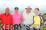Taking part in the walk in aid pf the Kerry Parent and Friends Association in Ballybunion on Sunday were Ogie Moran, Jimmy Deenihan, TD John and Celia Byran...   Copyright Kerry's Eye 2008