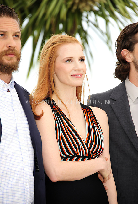 "WWW.ACEPIXS.COM . . . . .  ..... . . . . US SALES ONLY . . . . .....May 19 2012, Cannes....Jessica Chastain at the photocall for ""Lawless"" at the Cannes Film Festival May 19 2012 in France ....Please byline: FAMOUS-ACE PICTURES... . . . .  ....Ace Pictures, Inc:  ..Tel: (212) 243-8787..e-mail: info@acepixs.com..web: http://www.acepixs.com"