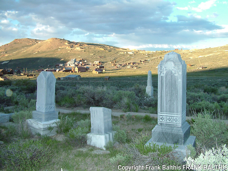 Cemetery at Bodie SHP