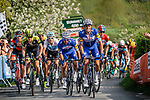 Riders clim Le Redoute during the 2018 Liège - Bastogne - Liège (UCI WorldTour), Belgium, 22 April 2018, Photo by Thomas van Bracht / PelotonPhotos.com