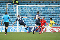 Harry Kane of Millwall takes a shot during Millwall vs Birmingham City, NPower Championship Football at The Den on 14th January 2012