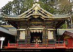 Shinyosha Shed for Mikoshi Sacred Spirit Palanquins Honsha Central Shrine Nikko Toshogu Shrine Nikko Japan