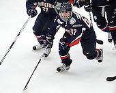 - The Boston University Terriers defeated the visiting University of Connecticut Huskies 4-2 on Saturday, November 19, 2011, at Walter Brown Arena in Boston, Massachusetts.