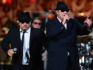 "Washington, DC - July 3, 2017: The Blues Brothers, Dan Akroyd and Jim Belushi, perform at the ""Capitol Fourth"" rehearsal concert on the west lawn of the U.S. Capitol July 3, 2017  (Photo by Don Baxter/Media Images International)"