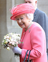 Queen Elizabeth II Starts London Marathon Windsor Castle