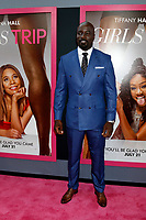 "LOS ANGELES - JUL 13:  Mike Colter at the ""Girls Trip"" Premiere at the Regal Cinemas on July 13, 2017 in Los Angeles, CA"