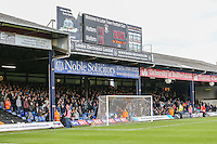 Wycombe Wanderers fans during the Sky Bet League 2 match between Luton Town and Wycombe Wanderers at Kenilworth Road, Luton, England on 26 December 2015. Photo by David Horn.