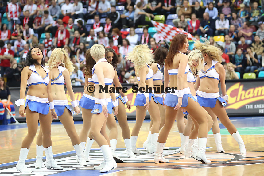 Fraport Skliners Dance Team - Fraport Skyliners vs. s.Oliver Baskets Würzburg, Fraport Arena Frankfurt