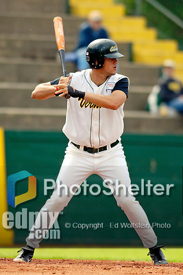 18 May 2006: Miguel Magrass,  a University of Vermont Junior from West Roxbury, MA, at bat against the University of Maine Black Bears, at Historic Centennial Field, in Burlington, Vermont...Mandatory Photo Credit: Ed Wolfstein Photo.