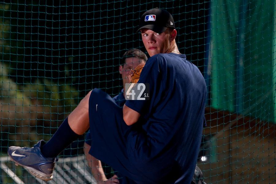 Baseball - MLB Academy - Tirrenia (Italy) - 19/08/2009 - Aliaksei Lukashevich (Belarus)