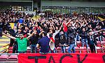 S&ouml;dert&auml;lje 2014-05-18 Fotboll Superettan Syrianska FC - Hammarby IF :  <br /> Syrianska supportrar<br /> (Foto: Kenta J&ouml;nsson) Nyckelord:  Syrianska SFC S&ouml;dert&auml;lje Fotbollsarena Hammarby HIF Bajen supporter fans publik supporters