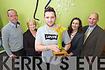 The winner of the the May Local Hero Award is Keith Doran from Killarney. <br /> From Left: Aidan O'Connor, Kerry's Eye, Teresa Cronin. nominator,  Keith and Teresa Murphy, Radio Kerry and Brendan Kennelly, Marketing Manager Kerry's Eye