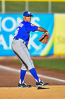 Las Vegas 51s starting pitcher Sean Gilmartin (36) warms up in the bullpen before the game against the Salt Lake Bees in Pacific Coast League action at Smith's Ballpark on June 19, 2016 in Salt Lake City, Utah. The 51s defeated the Bees 8-1. (Stephen Smith/Four Seam Images)