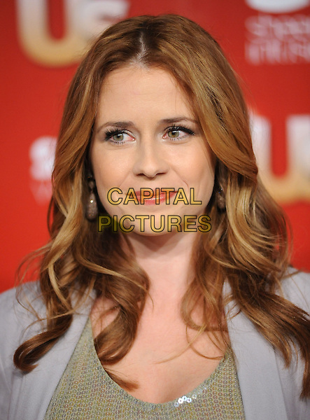 JENNA FISCHER.US Weekly's Hot Hollywood Party 2009 held at Voyeur, West Hollywood, California, USA. .November 18th, 2009.full length gold beige gold sequins sequined .CAP/RKE/DVS.©DVS/RockinExposures/Capital Pictures.