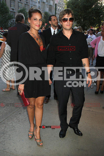 June 27, 2012  Rob Thomas and Marisol Thomas at the special screening of Universal Pictures' Savages at the SVA Theater in New York City. © RW/MediaPunch Inc *NORTEPHOTO*COM*<br />