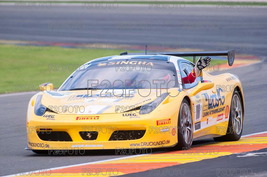 VALENCIA, SPAIN - OCTOBER 2: Holger Harmsen during Valencia Ferrari Challenge 2015 at Ricardo Tormo Circuit on October 2, 2015 in Valencia, Spain