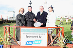 Ann, Tom and Danielle Wall with Howard Kirk after the Flo Gas Sponsored Race at the Bellewstown Races...Photo NEWSFILE/Jenny Matthews.(Photo credit should read Jenny Matthews/NEWSFILE)....This Picture has been sent you under the condtions enclosed by:.Newsfile Ltd..The Studio,.Millmount Abbey,.Drogheda,.Co Meath..Ireland..Tel: +353(0)41-9871240.Fax: +353(0)41-9871260.GSM: +353(0)86-2500958.email: pictures@newsfile.ie.www.newsfile.ie.FTP: 193.120.102.198.