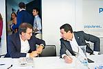Alberto Nunez Feijoo (l) and Juan Manuel Moreno Bonilla during the General Council of Partido Popular. July 29, 2019. (ALTERPHOTOS/Francis González)