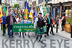 The East Kerry clubs in the Coiste na nÓg 50th anniversary parade marches through Killarney on Sunday
