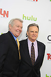 """One Life To Live's Jerry verDorn & Robert S. Woods """"Clint & Bo Buchanan"""" and was on Guiding Light  - Red Carpet at New York Premiere Event for beloved series """"One Life To Live"""" on April 23, 2013 at NYU Skirball, New York City, New York - as The Online Network (TOLN) - OLTL - AMC begin airing on April 29, 2013 on Hulu and Hulu Plus.  (Photo by Sue Coflin/Max Photos)"""