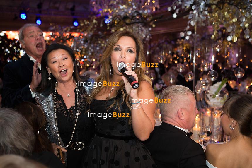 H&eacute;l&egrave;ne S&eacute;gara : &quot; The Best &quot; 40th Edition &agrave; l'h&ocirc;tel George V.<br /> France, Paris, 27 janvier 2017.<br /> ' The Best ' 40th Edition at the George V hotel in Pais.<br /> France, Paris, 27 January 2017