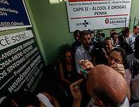 ATENCAO EDITOR: FOTO EMBARGADA PARA VEICULO INTERNACIONAL - SAO PAULO, SP, 19 DE SETEMBRO 2012 - ELEICOES SP - JOSE SERRA  - O candidato a prefeitura de Sao Paulo, Jose Serra (PSDB) durante visita ao comercio do bairro da Penha regiao leste da capital paulista nesta quarta-feira, 19. FOTO: VANESSA CARVALHO - BRAZIL PHOTO PRESS.