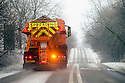 11/12/14<br /> <br /> A grittier clears the A515 near Newhaven, Derbyshire after<br /> overnight snow fall settles on hills in the Derbyshire Peak District.<br /> <br /> ***ANY UK EDITORIAL PRINT USE WILL ATTRACT A MINIMUM FEE OF &pound;130. THIS IS STRICTLY A MINIMUM. USUAL SPACE-RATES WILL APPLY TO IMAGES THAT WOULD NORMALLY ATTRACT A HIGHER FEE . PRICE FOR WEB USE WILL BE NEGOTIATED SEPARATELY***<br /> <br /> <br /> All Rights Reserved - F Stop Press. www.fstoppress.com. Tel: +44 (0)1335 300098