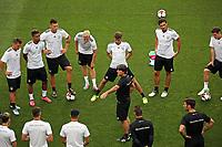 Teambesprechung Deutschland mit Bundestrainer Joachim Loew (Deutschland Germany) - *cs* 31.08.2017: Abschlusstraining Deutschland in Prag, Marriott Hotel