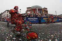 Cycles Comique - Rosenmontagsumzug in Mainz