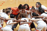 SAN ANTONIO, TX - DECEMBER 15, 2015: The University of Texas at San Antonio Roadrunners defeat the Howard Payne University Lady Jackets 106-65 at the UTSA Convocation Center. (Photo by Jeff Huehn)