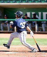 Erik Komatsu / Helena Brewers in action against the Ogden Raptors in a Pioneer League game in Ogden, UT - 08/10/2008..Photo by:  Bill Mitchell/Four Seam Images