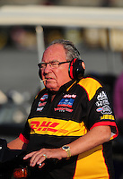 Jun. 19, 2011; Bristol, TN, USA: NHRA team owner Connie Kalitta during the Thunder Valley Nationals at Bristol Dragway. Mandatory Credit: Mark J. Rebilas-