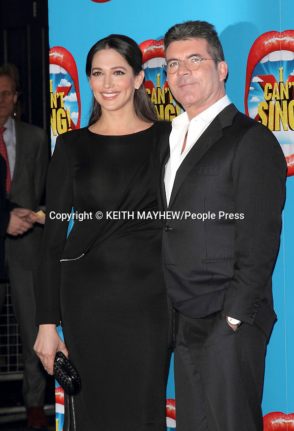 'I Can't Sing - the X Factor Musical' Press Night at the London Palladium, London on March 26th 2014 <br />