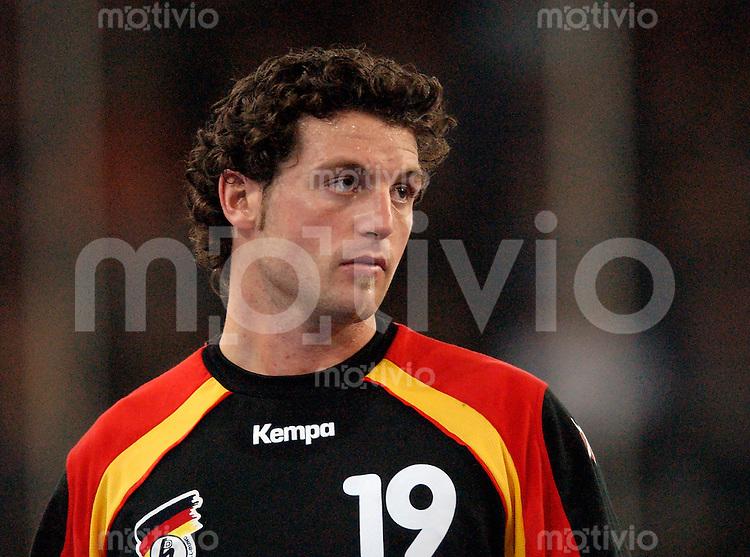 Handball Herren, Laenderspiel, UNIVERSA-CUP Hanns-Martin-Schleyerhalle Stuttgart (Germany) Nationalmannschaften, 1000. Laenderspiel der deutschen Nationalmannschaft, Deutschland - Ungarn (26:25) Florian Kehrmann (GER)