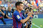 53e Trofeu Joan Gamper.<br /> Presentation 1st team FC Barcelona.<br /> Philippe Coutinho.
