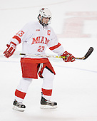 Andy Greene - The Boston College Eagles defeated the Miami University Redhawks 5-0 in their Northeast Regional Semi-Final matchup on Friday, March 24, 2006, at the DCU Center in Worcester, MA.