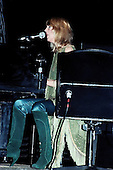 Fleetwood Mac - keyboard player vocalist Christine McVie performing live on the Tusk Tour at Wembley Arena in London UK - 19 Jun 1980.  Photo credit: Alan Perry/IconicPix