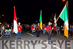 The Home Coming -The  kerry Minor Team are Welcomed back to Dingle on Tuesday by Dingle Fife and Drum Band