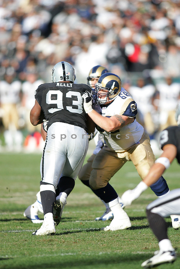 RICHIE INCOGNITO, of the St. Louis Rams, during their game  against the Oakland Raiders on December 17, 2006 in Oakland, CA...Rams win 20-0...ROB HOLT/ SPORTPICS