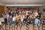 Patrick O'Sullivan Kilcummin (seated centre) who celebrated his 21st birthday with his friends and family in Darby O'Gill's Killarney on Saturday night   Copyright Kerry's Eye 2008