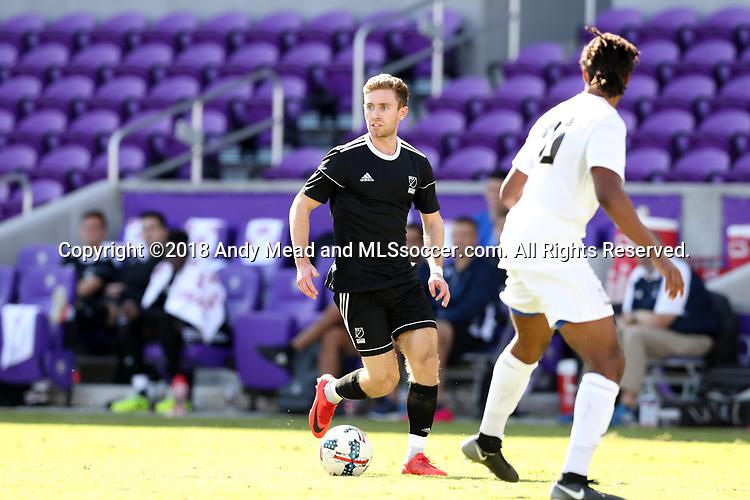 Orlando, Florida - Monday January 15, 2018: Jon Gallagher. Match Day 2 of the 2018 adidas MLS Player Combine was held Orlando City Stadium.