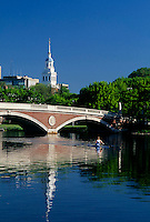 Weeks Bridge, rowing, Harvard University, Cambridge, MA