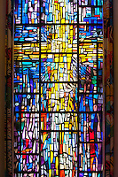 Detail, Herrick Memorial Chapel, Occidental College, July 22, 2009.  (Photo by Marc Campos, Occidental College Photographer)